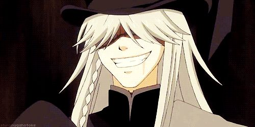 black butler undertaker gif | Tumblr
