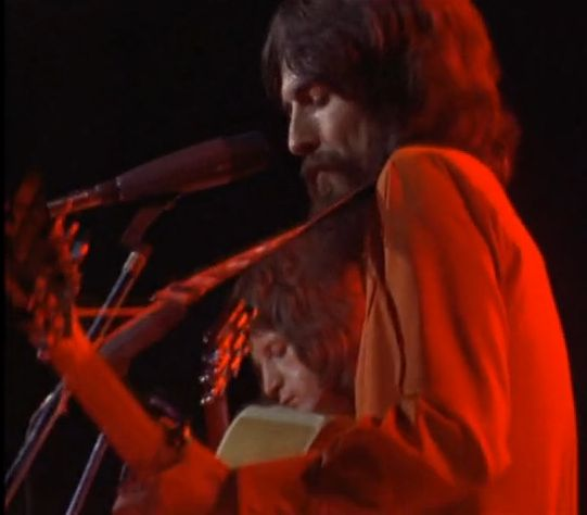 Pete Ham & George Harrison, Here Comes The Sun, Concert For Bangladesh