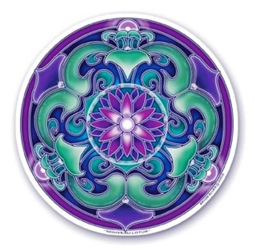 Mandala Art Window Sticker