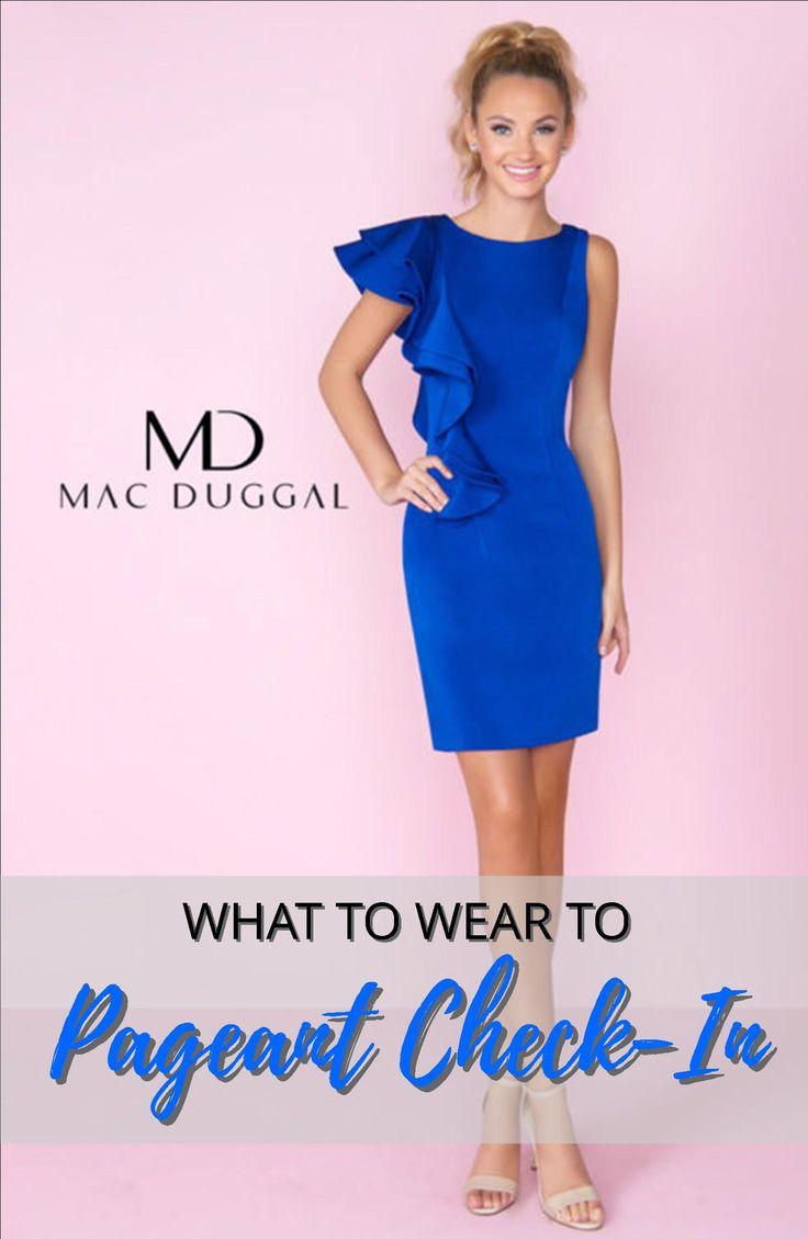 Mejores 335 imágenes de Pageant Interview Wear en Pinterest | Azul ...