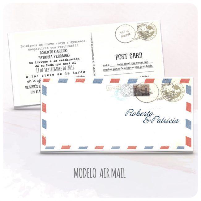 invitacion-boda-vintage-postal-tipo-postal-modelo-16-air-mail-latiendadeolivia-com