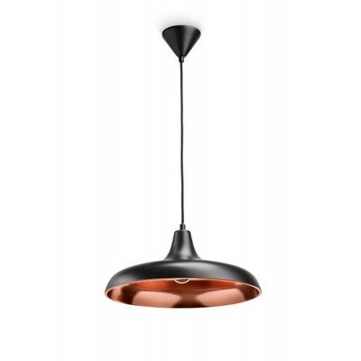 Philips SURREY Pendant Light - Real Copper / Black