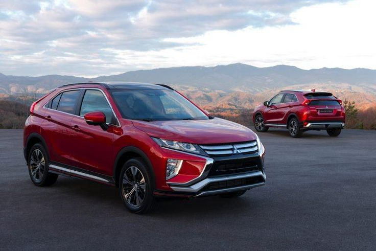 The 2018 Mitsubishi Eclipse Cross debuted at the Geneva Motor Show this past weekend. Learn all about the newest crossover! #Mitsubishi #EclipseCross #Crossover #GenevaMotorShow #Cars #Vehicles #CarShow