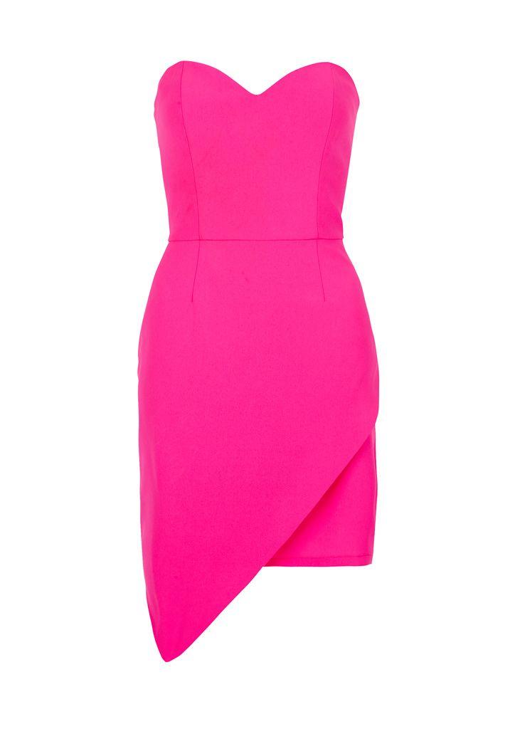 Celine Dress - Fuschia Pink