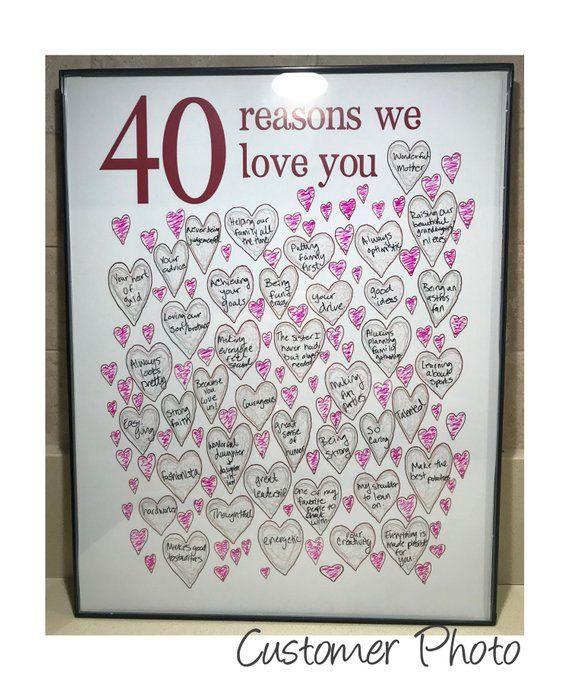 Pin On Moms 40th Birthday