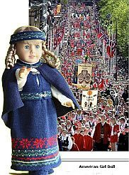 Målfrid Gausel, astounding knitwear designer for dolls from Norway. Specialty in American Girl Dolls.