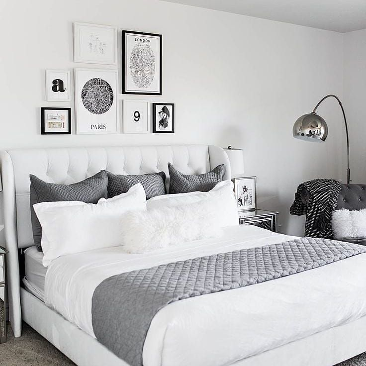 Via Home Inspiration Uk Beautiful Bedroom Decor Gallery Wall Bedroom Bedroom Decor