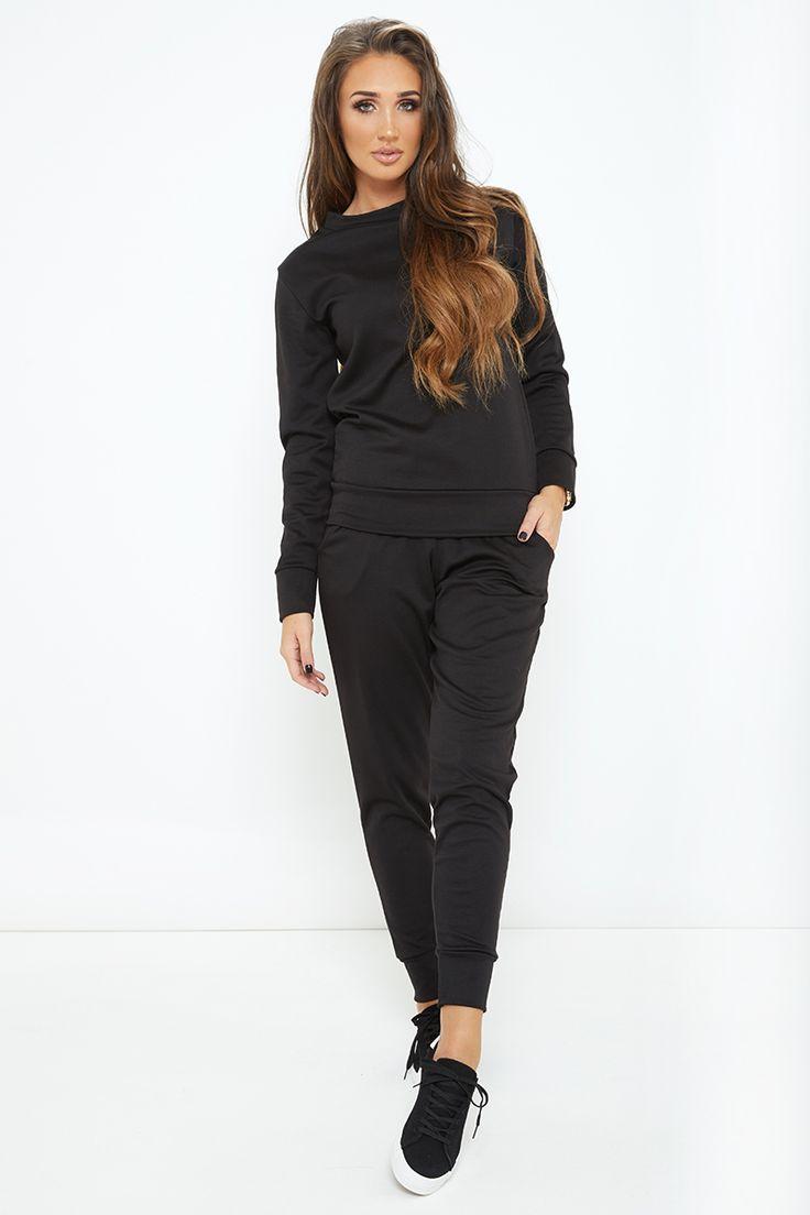 Megan McKenna Black Loungewear Set