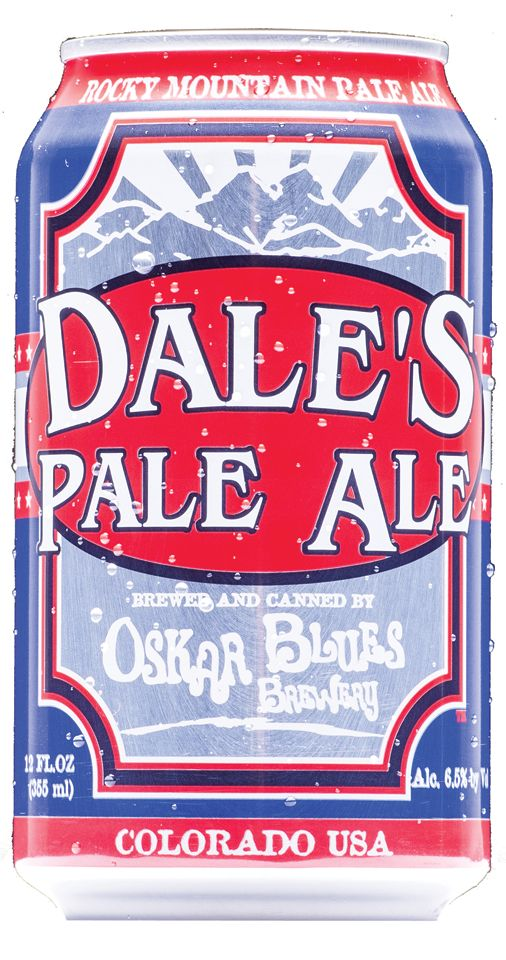 Dale's Pale Ale. Lots of hops. My favorite reward after backcountry skiing in Colorado