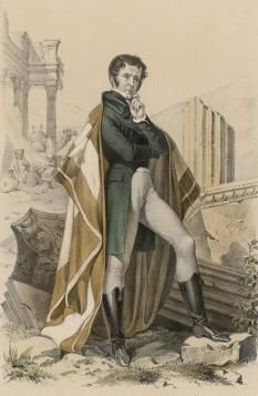 François-René de Chateaubriand by Henri Félix Emmanuel Philippoteaux