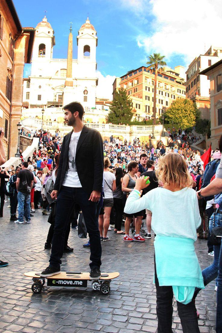 Tutte le strade portano a #Roma!  All roads leed to #Rome!  #ZBoard