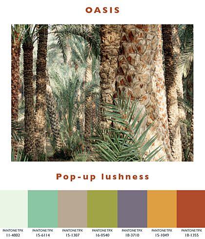Oasis – Pop-up Lushness | Lenzing Spring/Summer 2014 Fashion & Color Trends