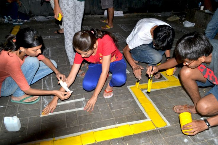 An effort towards engaging citizens with their city spaces