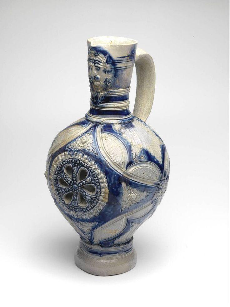 wine pitcher, Anonymous, 1650 - 1700 | Museum Boijmans Van Beuningen