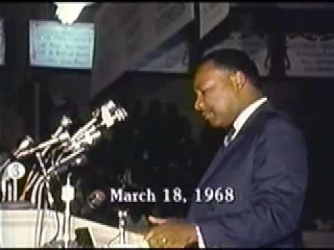 #Video #Dr. Martin Luther King, Jr speaking on economic development.