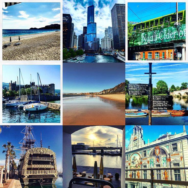 Business destinations 2017        #giardininaxos #sicilia #chicago #usa #dublin #ireland #lagodigarda #algarve #portugal #richmond #england #alicante #espana #copenhagen #denmark #genova #italia