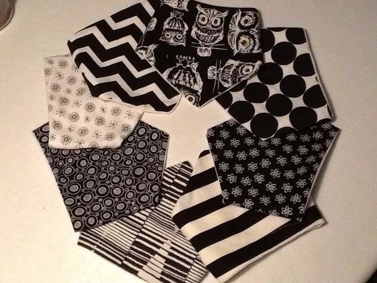 Dribble Bibs for 2015 by Moxie and Zab