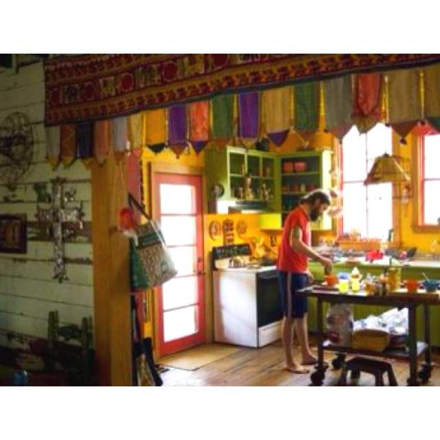 Hippie Kitchen Decor: 58 Best Hippie Living Images On Pinterest