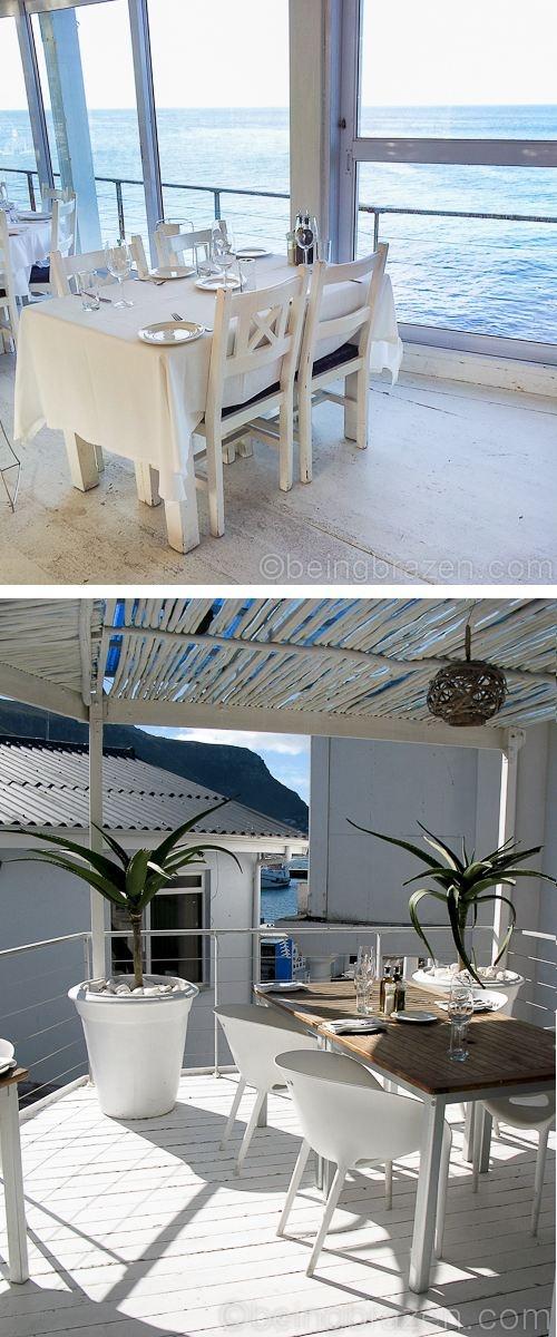 Harbour House restaurant in Kalk bay
