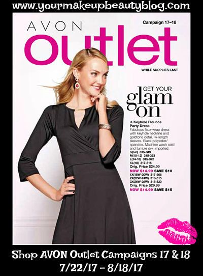 Click on your AVON Outlet eBrochure While Supplies Last!!!