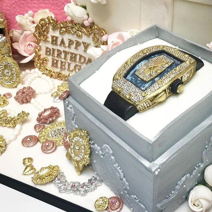 Third Sneak peek of our cake of the year! Richard Mille watch. #deliciousarts #hermes #birkinbag #birkinbagcake #pinksapphire #swarovskicrystals #diamondlock #customcakes #handbagcake #birthdaycake#edible #fondantart #gem #jewels #sugarroses #sugarflowers #westla #westpico #losangeles #bakery #fondantleather #crocodile #cake #richardmille #richardmillewatch #diamondbezel #watch #watchcake