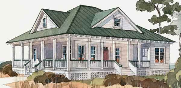 Inlet Retreat Southern Living House Plans Sl 292 Turn