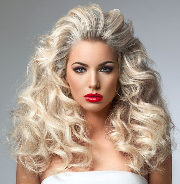 Big Hairstyles 377 Best Big Hair Images On Pinterest  Hairdos Curls And Hair