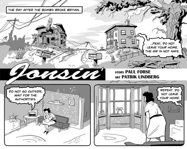 A teaser of the Jonsin story in the Fitzroy comic!