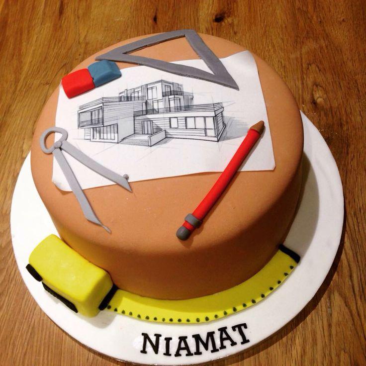 Architects birthday cake