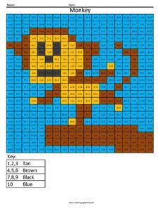 Ruutuvärityskuvia matematiikan eri osa-alueisiin ja eri vaikeustasoille. Mm. Angry Birds - teemalla.