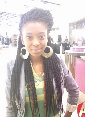 Super cute protective style. Natural Idealist: Box braids and Senegalese twists