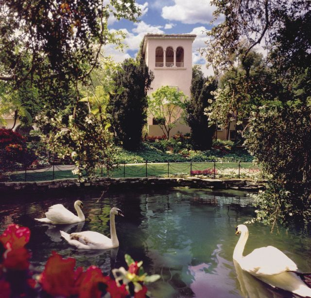 Hotel Bel-Air at Los Angeles, California did many weddings here.:)