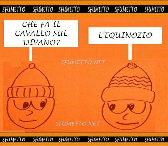 #barzelletta #vignetta #battuta #divertente #ridere #umorismo #ahahah #ahah #ahahahah #cavallo #indovinelli
