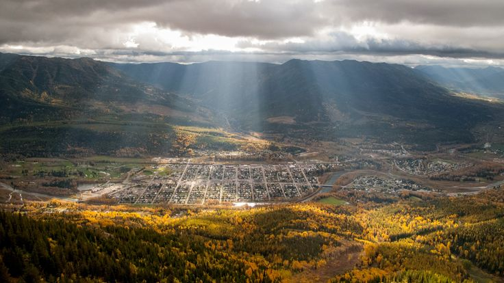 You can't miss seeing Fernie in Fall.
