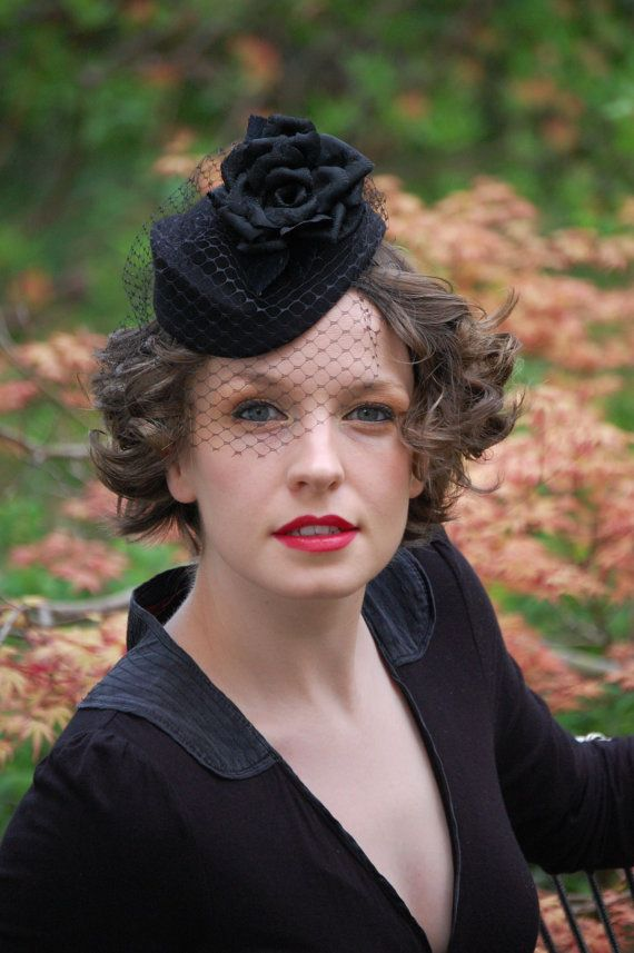 Cocktail hat #millinery #judithm #hats http://www.royaldressedladies.com/blog/lucky-fuck-a-royal-dressed-whore-part-2.html