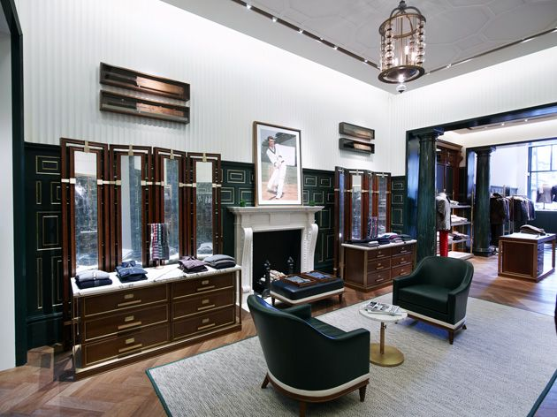Kent Curwens New David Collins Studio Designed Flagship On Savile Row Declares The Brands Ambition
