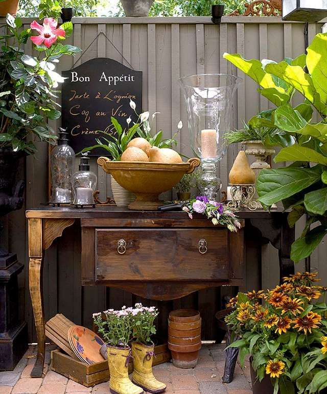 133 Best Garden Vignettes Images On Pinterest