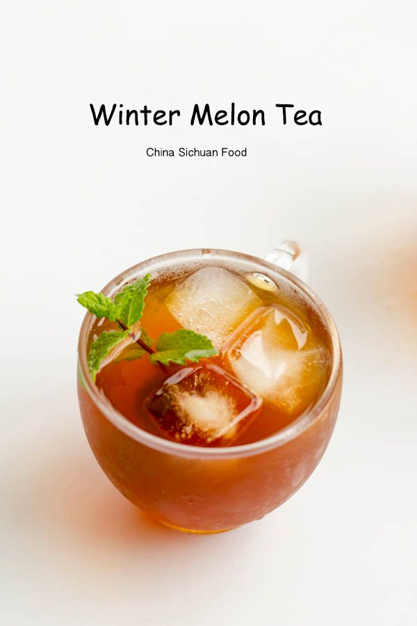 Winter Melon Tea | Recipe | Winter melon and Teas
