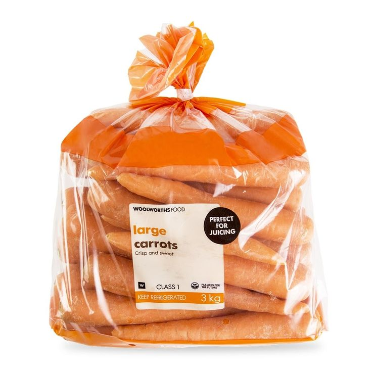 Bulk Carrots 3Kg 32