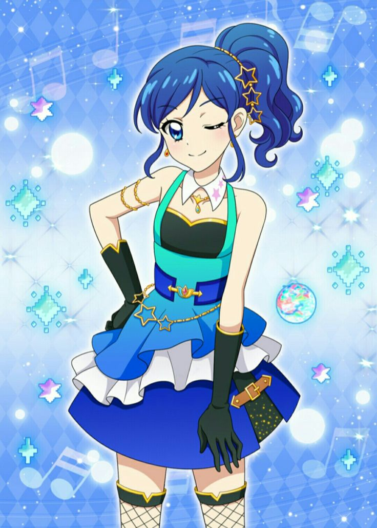 Wallpaper Pink Girl Cartoon Aoi Sr17 Aikatsu Aoi Sr Pinterest Anime Star And