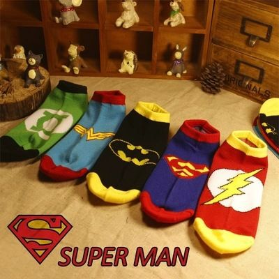 This is nice, check it out!   2015 New Arrival Summer Style Women&Men Crew Socks The Flash Green Lantern Superman Batman Themed Cotton Sport Ankle Socks Meias - US $1.56 http://clothingacademy.com/products/2015-new-arrival-summer-style-womenmen-crew-socks-the-flash-green-lantern-superman-batman-themed-cotton-sport-ankle-socks-meias/