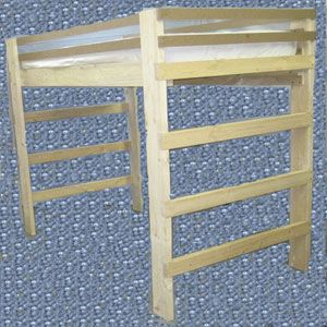 Find This Pin And More On Loft Beds Super Heavy Duty
