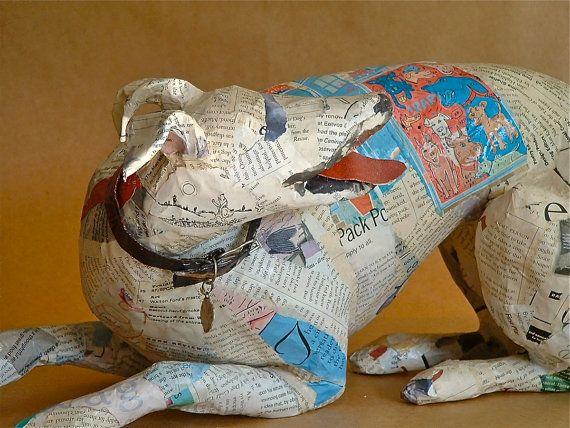 1000 images about papier m ch objets d 39 art paper mache for Paper mache objects