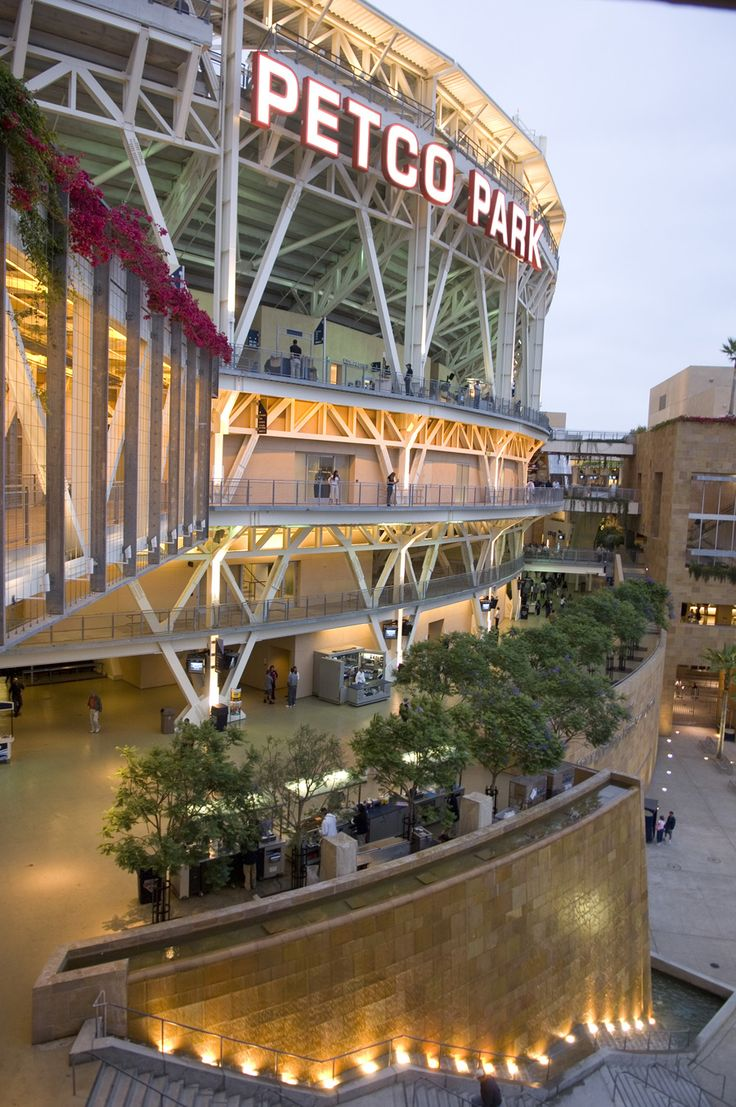 PETCO Park! Home of the San Diego Padres!