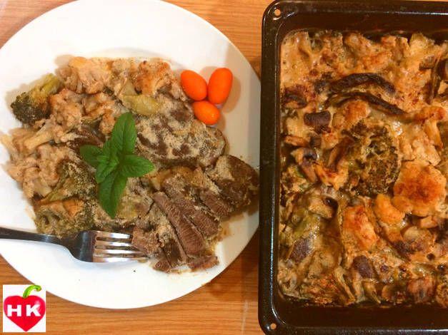 صينية ستيك اللحم بالخضار بالصور من Hamoudy S Kitchen Recipe Easy Meal Prep Easy Meals Food Decoration