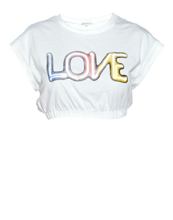 GLAMOROUS | Love Neon Light Crop Top - Women - Style36
