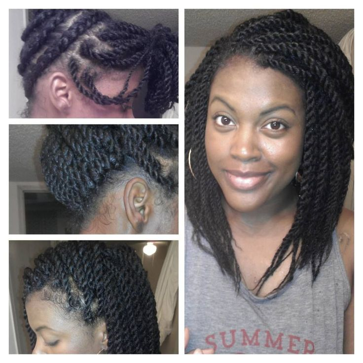 Pre Twisted Crochet Hair Styles : Crochet braids- PRE-TWISTED on Pinterest Braids, Kanekalon braids ...