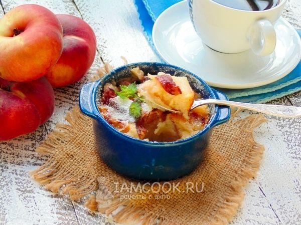 Фото американского персикового коблера