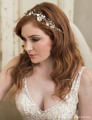 Bridal Hair Accessories | Wedding Headbands, Tiaras, Hair Vines – Off White