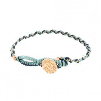 Barong Barong Bracelet Lucky Stones Blauw Rosé Goud » Jewelz